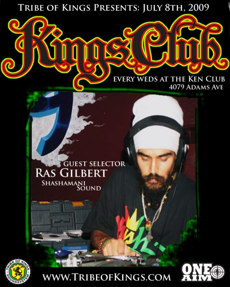 Kings Club Ras Gilbert