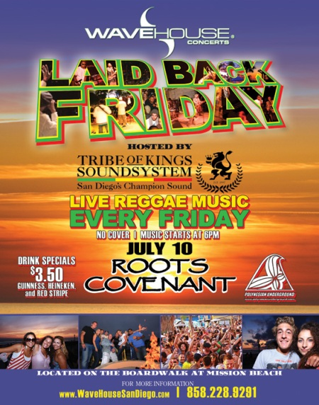 Laid Back Fridays Roots Covenant
