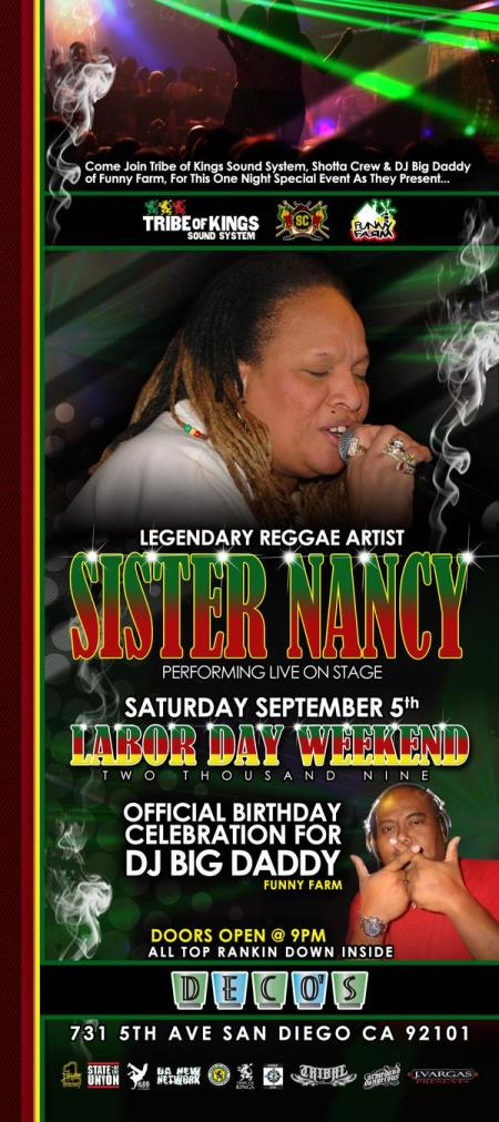 Nancy flyer front