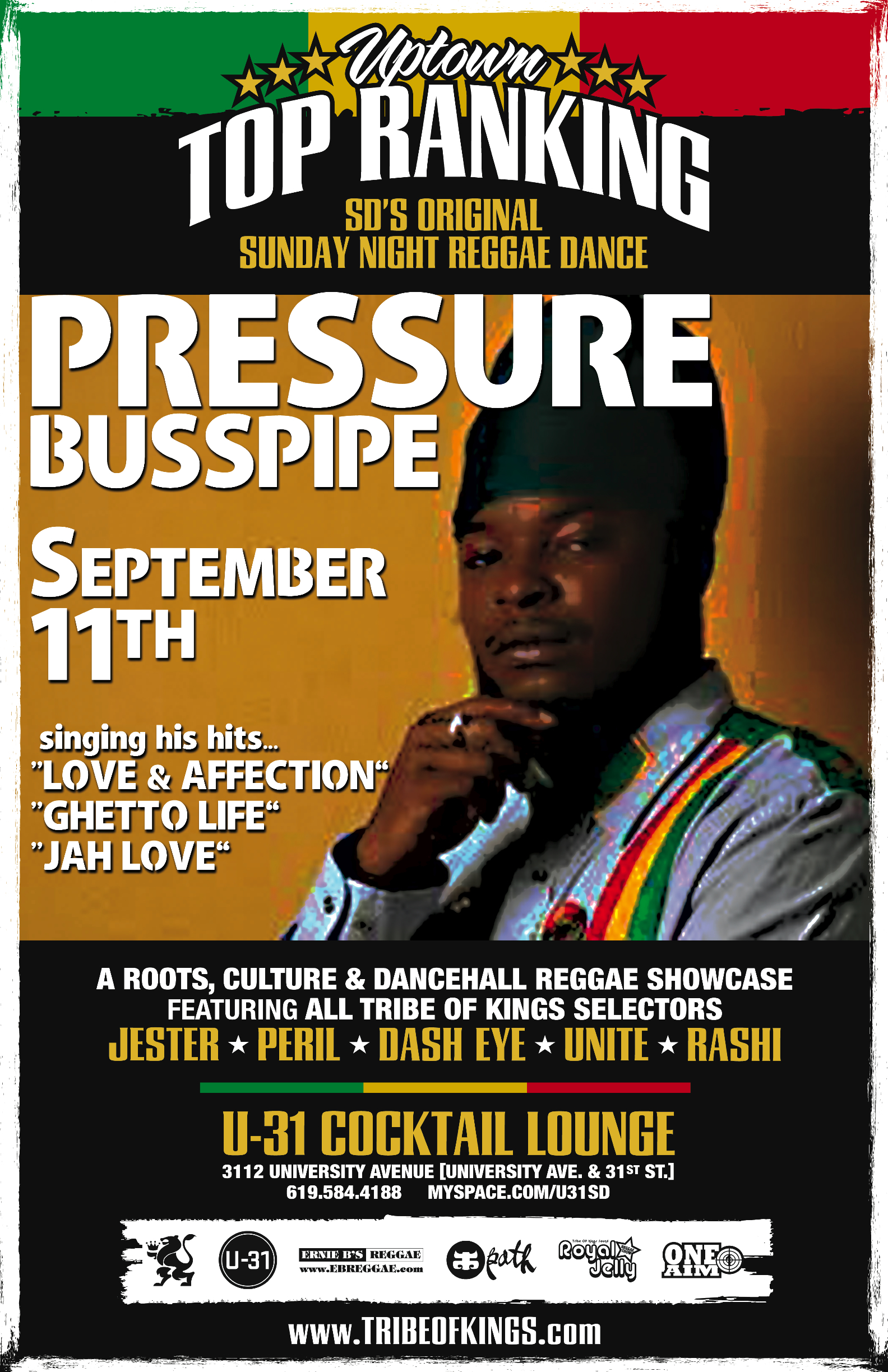 Pressure Pressure Buss Pipe Love and Affection