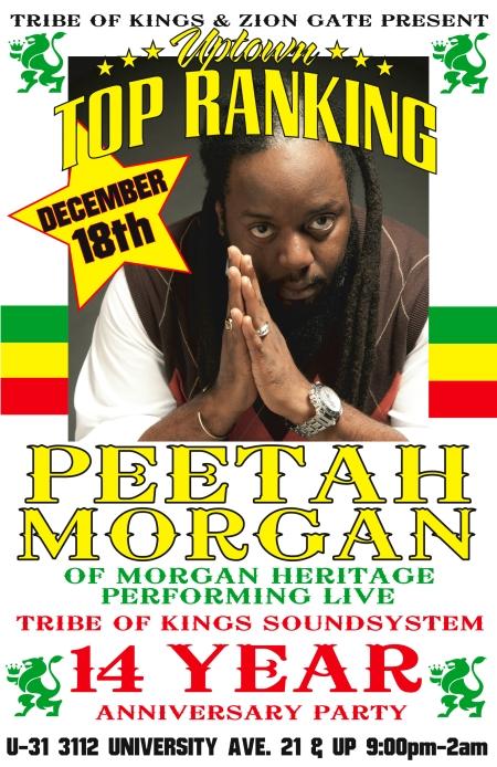 14 Year Anniversary W Peetah Morgan Dec 18th 2011