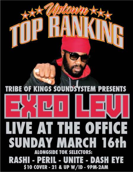 EXCO LEVI TRIBE OF KINGS MARCH